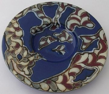 Doulton Lambeth Dish By Mark V Marshall